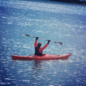 2014-09Connie-Kayaking